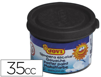 TEMPERA JOVI 35 ML NEGRO