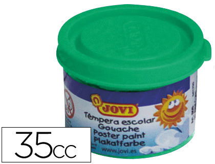 TEMPERA JOVI 35 ML VERDE MEDIO