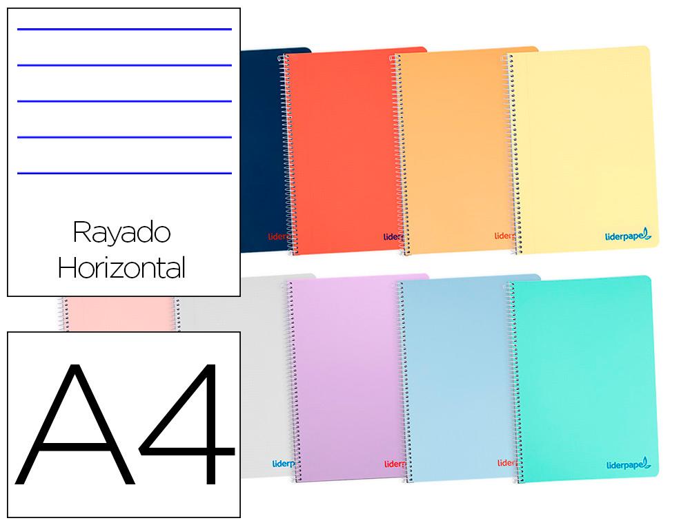 Cuaderno espiral Liderpapel BA03