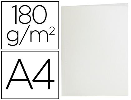SUBCARPETA LIDERPAPEL A4 BLANCO 180G/M2 (PACK DE 50)