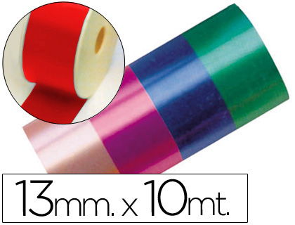 CINTA FANTASIA 10 MT X 13 MM ROJO