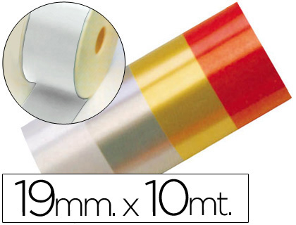 CINTA FANTASIA 10 MT X 19 MM BLANCO