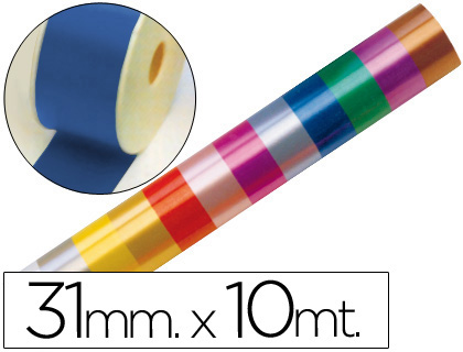 CINTA FANTASIA 10 MT X 31 MM AZUL