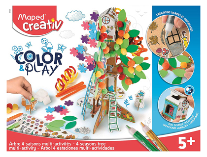 JUEGO MAPED EDUCATIVO CREATIV COLOR&PLAY ARBOL 4 ESTACIONES