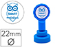 SELLO ARTLINE EMOTICONO INTELIGENTE COLOR AZUL 22 MM DIAMETRO