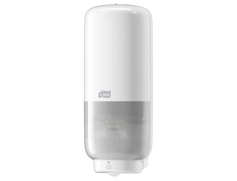 DISPENSADOR DE JABON DE PARED EN ESPUMA TORK ELEVATION S4 AUTOMATICO SENSOR INTUITION 1000 ML COLOR BLANCO