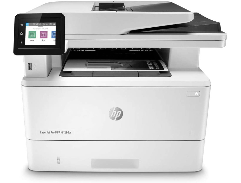 EQUIPO MULTIFUNCION HP LASERJET PRO MFP M428DW 38 PPM USB WIFI ETHERNET DUPLEX 512MB ESCANER COPIADORA