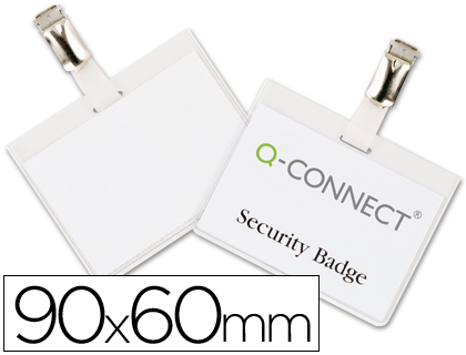IDENTIFICADOR Q-CONNECT COM MOLA KF-01562 60X90 MM