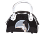 BOLSO PINGLET DE MANO COLOR NEGRO 230X140X110 MM