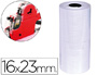 ETIQUETAS Q-CONNECT BLANCA 16 X 23 MM LISA -ROLLO 700 ETIQUETAS PARA ETIQUETADORA Q-CONNECT