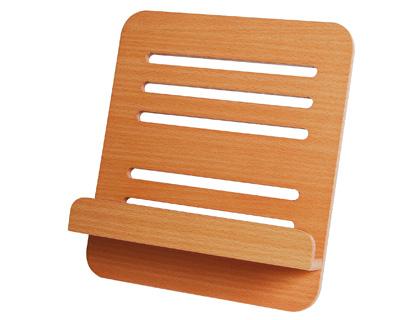 Atril sujetalibros madera l 88 230x270x30 mm comercial - Lamparas para leer libros ...