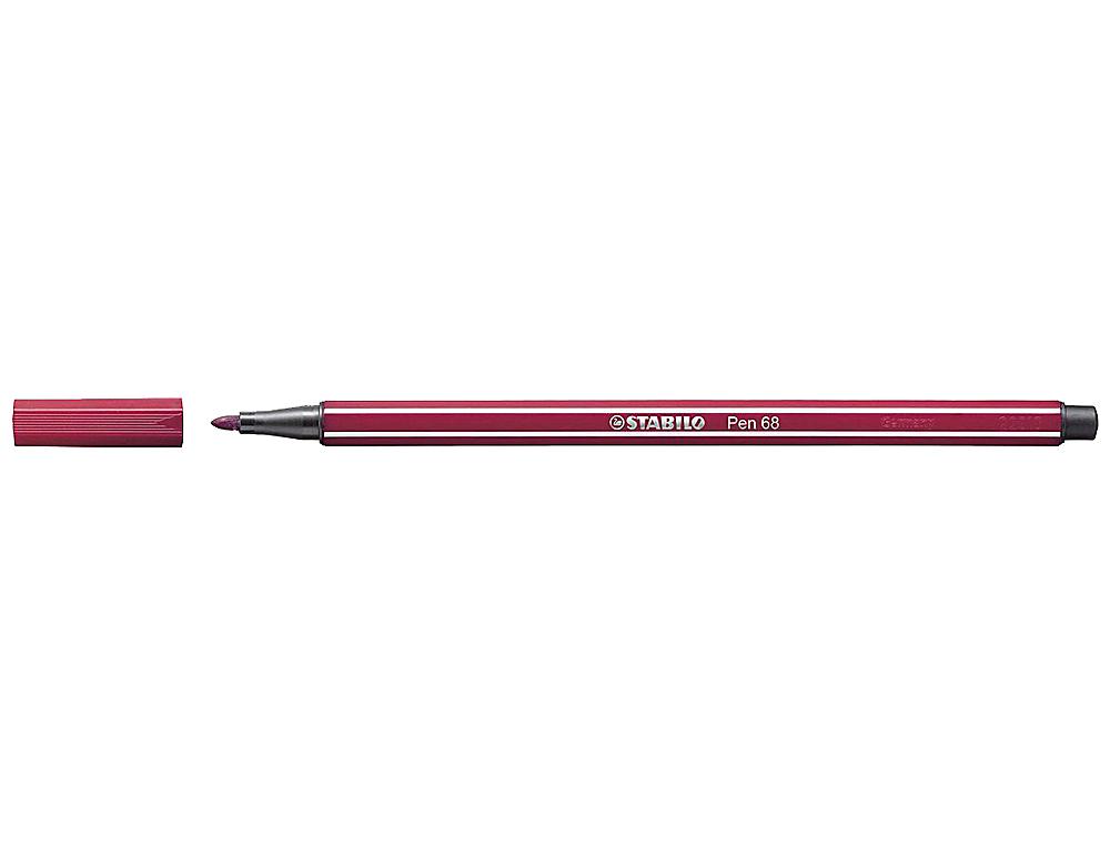 Rotulador stabilo acuarelable pen 68 purpura 1 mm