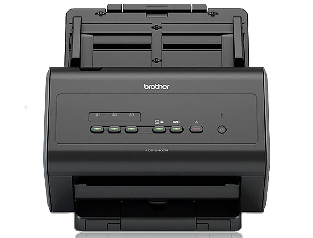 Escaner brother sobremesa ads-2400n doble cara tamaño a4 resolucion 600 ppp velocidad 60 ppm