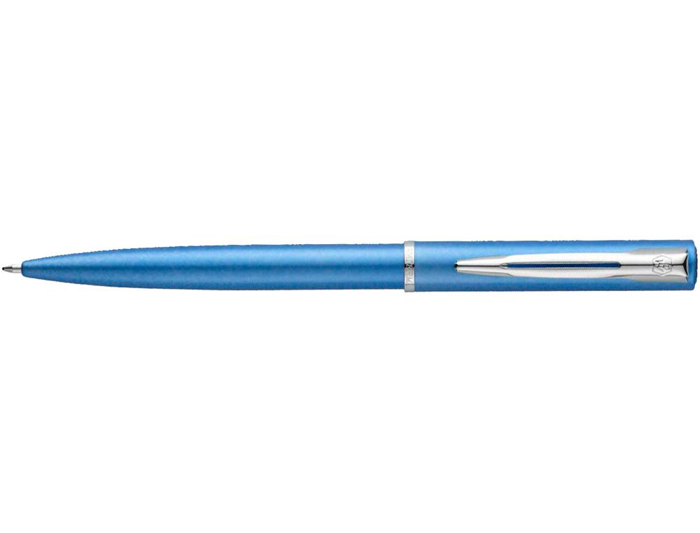 Boligrafo waterman allure laca azul en estuche de regalo