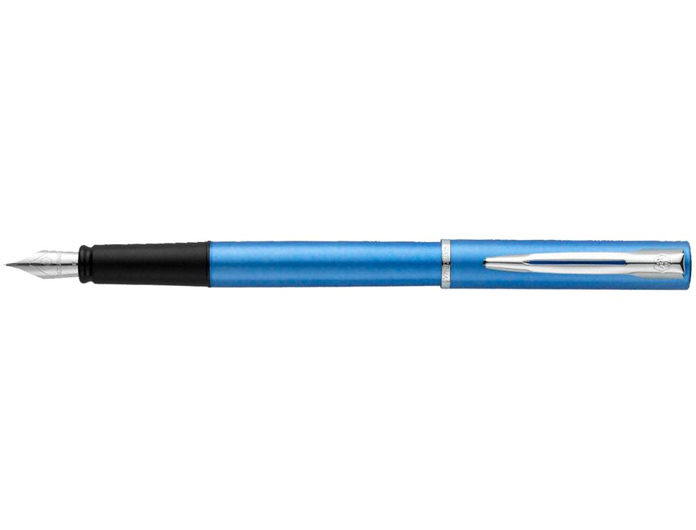 Pluma waterman allure laca azul en estuche de regalo