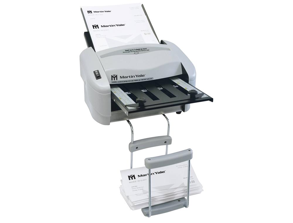 Plegadora de papel martin yale 7200 electrica para formatos din a4 y din a5 hasta 4000 hojas por hor