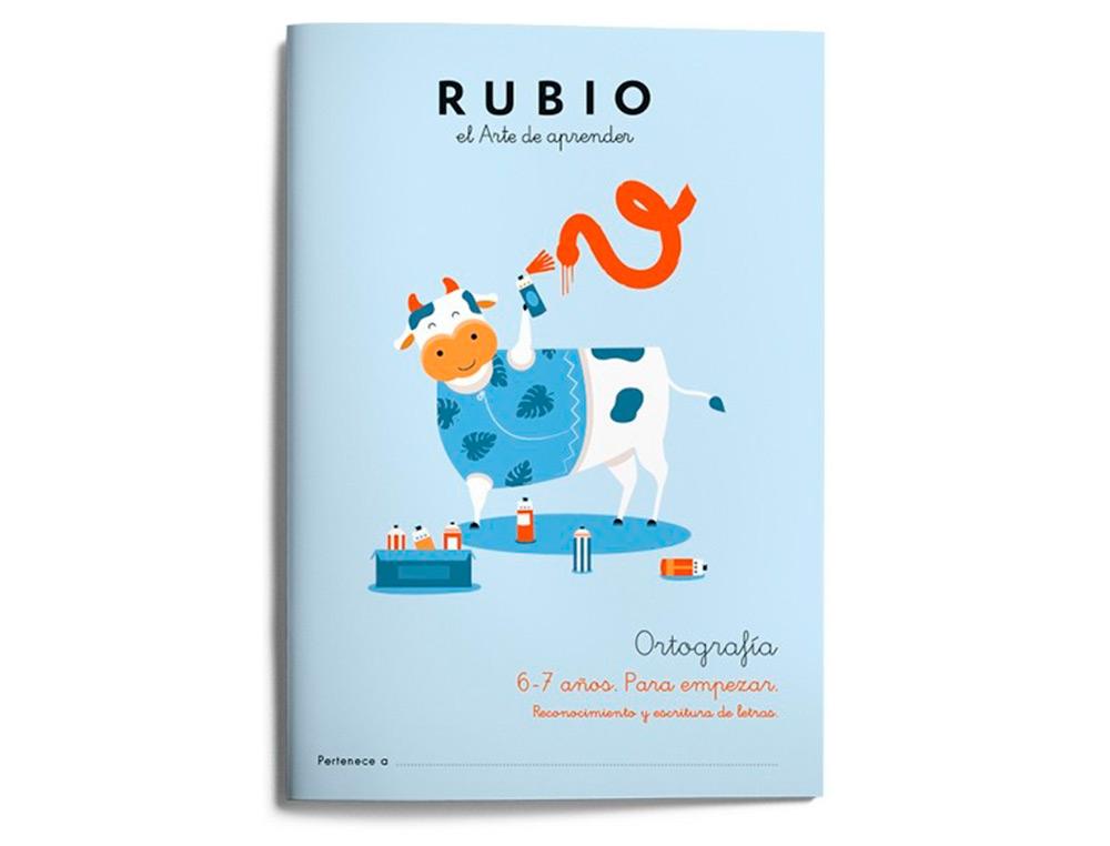 Cuaderno rubio ortografia 6-7 años para empezará