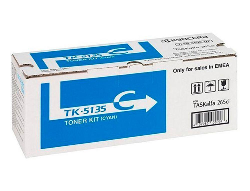 Toner kyocera -mita taskalfa 265ci toner cian