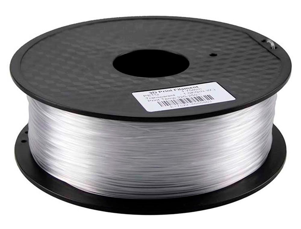 Filamento 3d colido petg 1,75 mm 1 kg transparente
