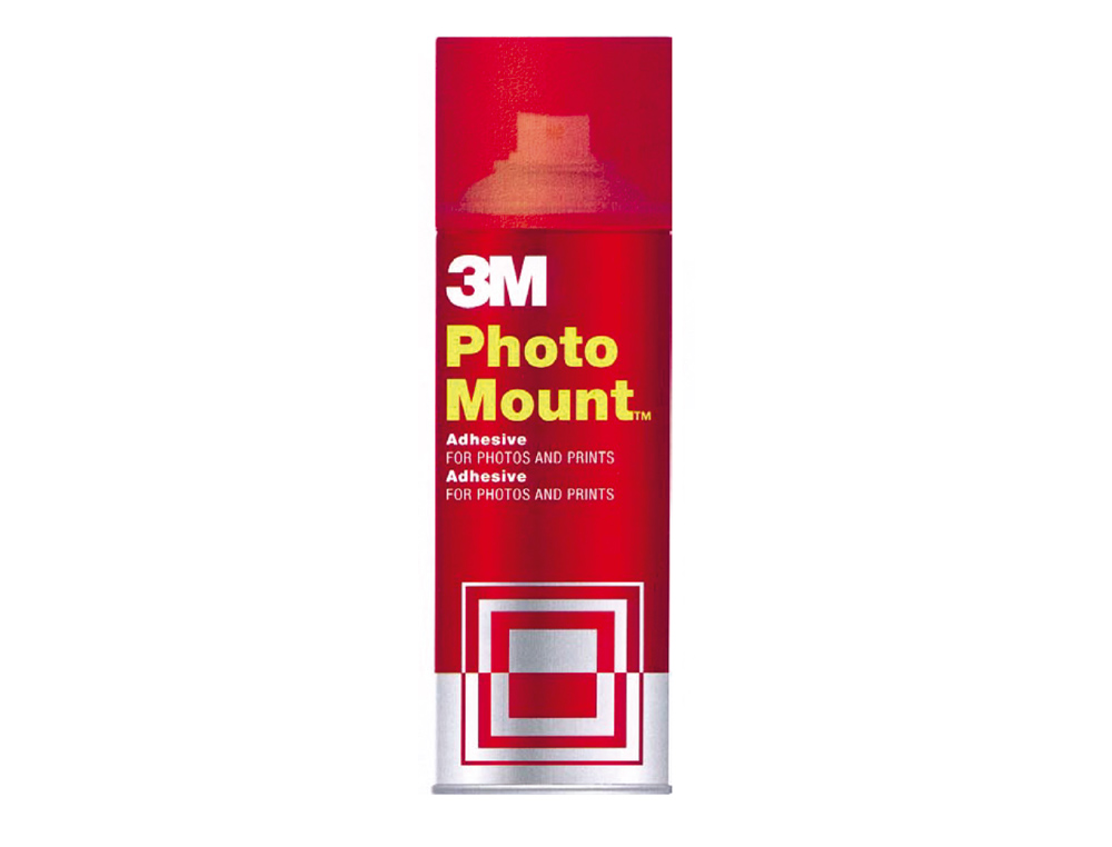 Pegamento scotch spray photo mount 400 ml -adhesivo permanente