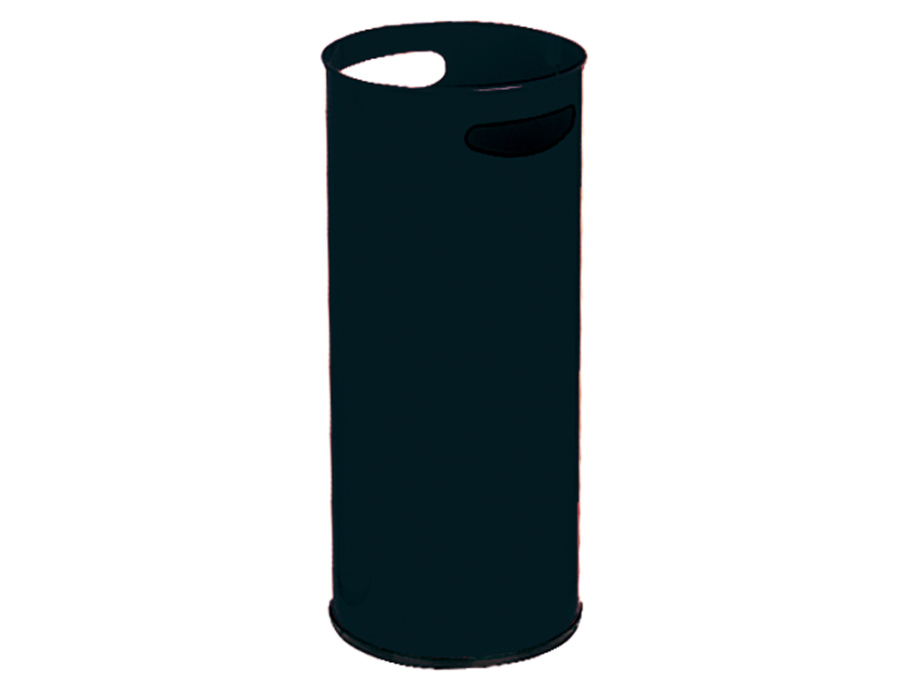 Paraguero metalico 306 negro medida 50x21.5 cm