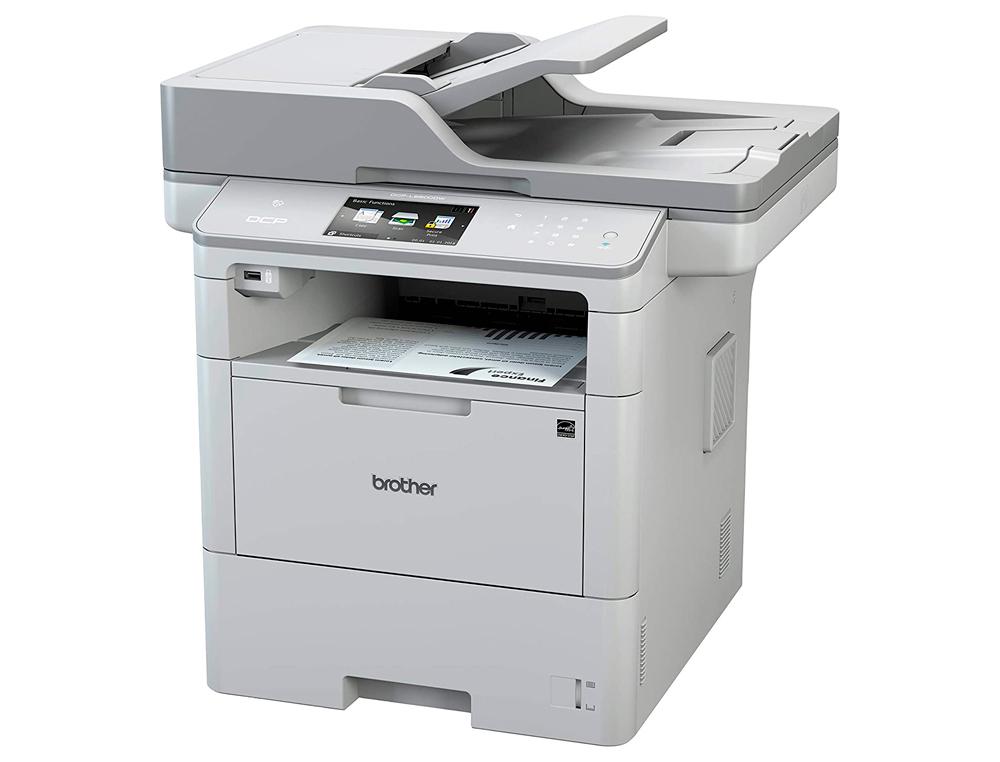 Equipo multifuncion brother dcpl6600dw 46ppm copiadora escaner impresora laser monocromo wifi