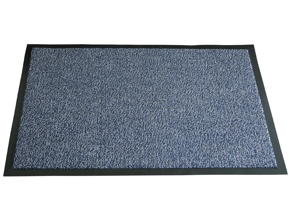 Alfombra fast-paperflow antipolvo lavable gris 90x150 cm