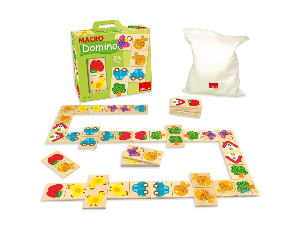 Juego diset de mesa macro domino