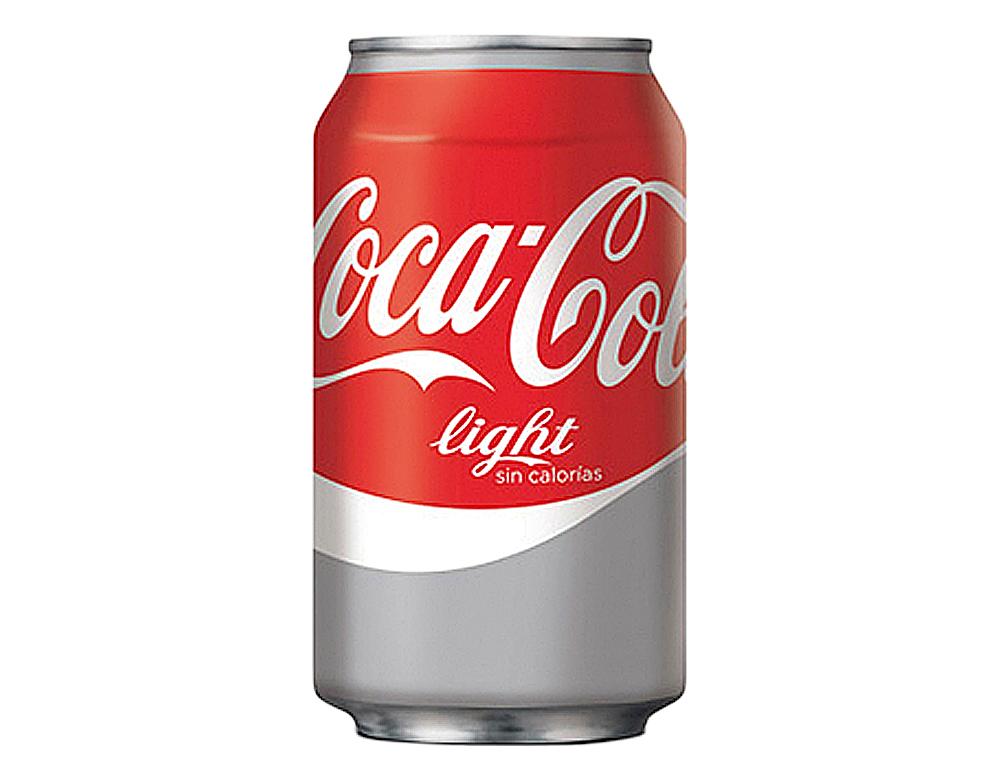 Refresco coca-cola light lata 330 ml