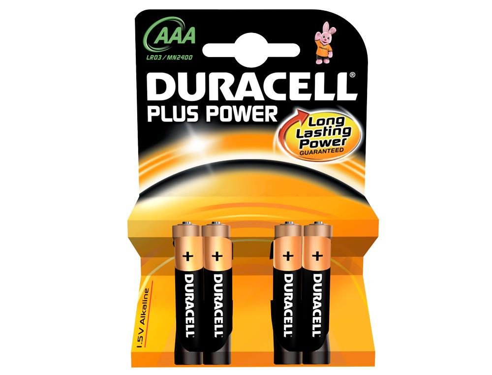 Pila duracell recargable aaa 750 mah blister de 4 unidades