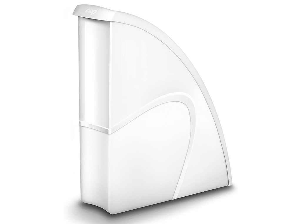 Revistero cep plastico uso vertical / horizontal blanco 85x270x310 mm