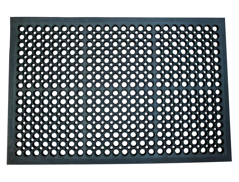 Alfombra para suelo q-connect antifatiga 600x900 mm