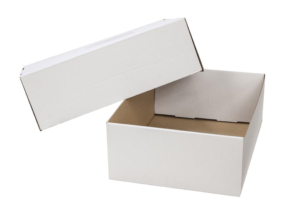Caja de envio con tapa y fondo 430x320x150 mm