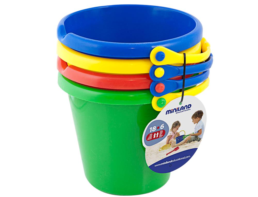 Juego miniland cubo set 4 unidades