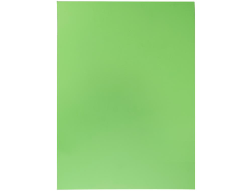 Goma eva liderpapel 50x70cm 60g/m2 espesor 2mm fluor verde