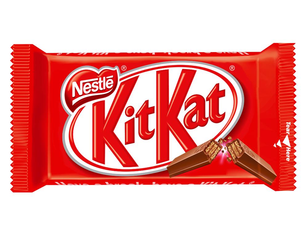 Kit kat nestle classic paquete de 4 barritas 41,5 gr